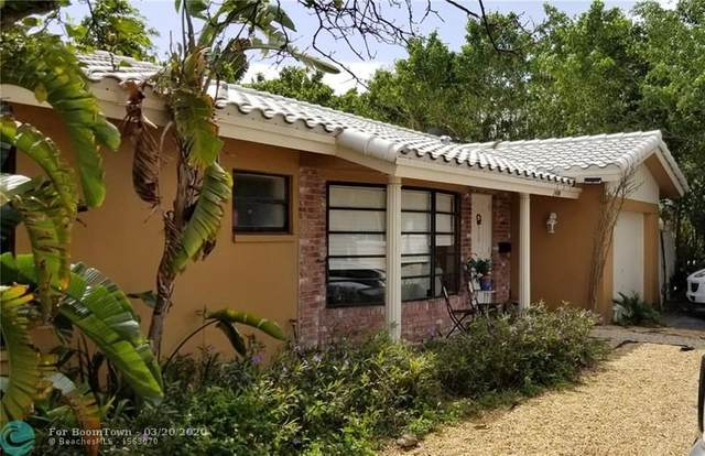 1406 NE 62nd St, Fort Lauderdale, FL 33334 (MLS #F10222737) :: The Howland Group