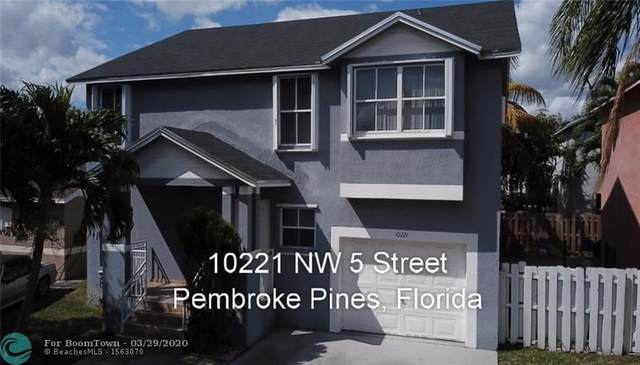 10221 NW 5 ST, Pembroke Pines, FL 33026 (MLS #F10223820) :: United Realty Group