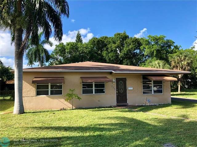 825 NE 20th Dr, Wilton Manors, FL 33305 (MLS #F10224117) :: The O'Flaherty Team