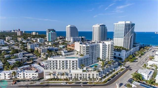 401 N Birch Rd #405, Fort Lauderdale, FL 33304 (MLS #F10224124) :: The Howland Group