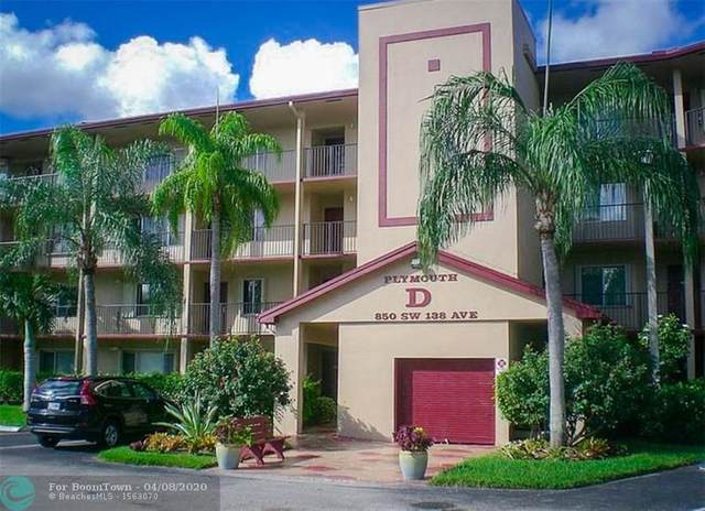 850 SW 138th Ave D208, Pembroke Pines, FL 33027 (MLS #F10224977) :: The Howland Group