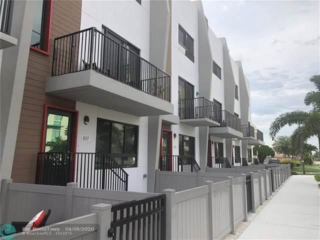 607 NE 2nd Ave 3-607, Fort Lauderdale, FL 33304 (MLS #F10224985) :: GK Realty Group LLC