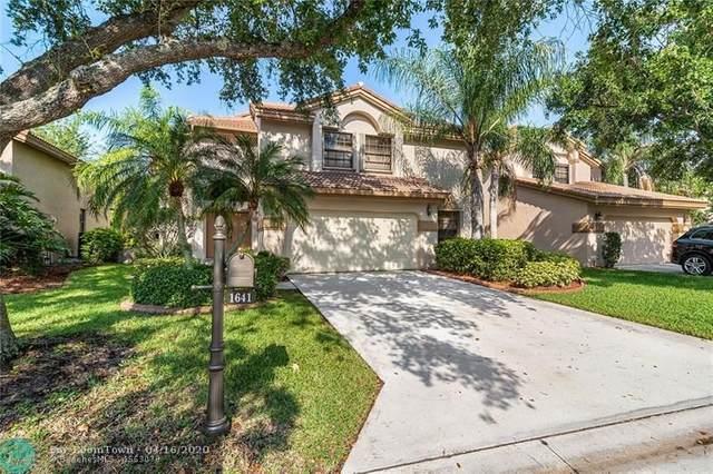 1641 NW 104 AVE, Plantation, FL 33322 (MLS #F10225354) :: Berkshire Hathaway HomeServices EWM Realty