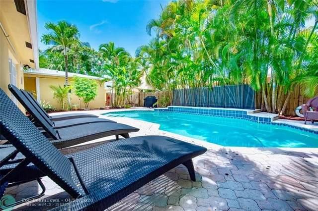 808 NE 16TH TE, Fort Lauderdale, FL 33304 (MLS #F10226739) :: The Howland Group