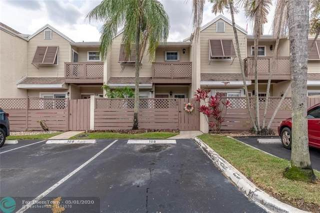 108 E Hemingway Cir #108, Margate, FL 33063 (#F10226924) :: Ryan Jennings Group