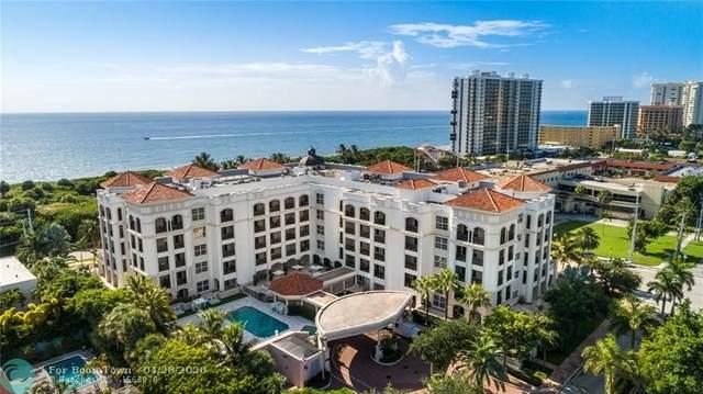 1 N Ocean Boulevard #302, Boca Raton, FL 33432 (MLS #F10227045) :: United Realty Group