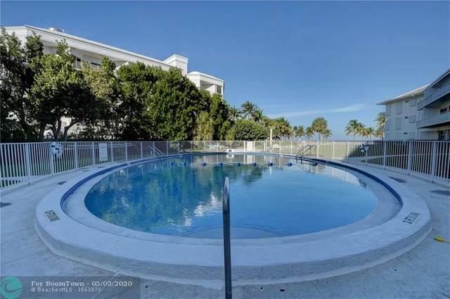 1750 S Ocean Ln #304, Fort Lauderdale, FL 33316 (#F10227675) :: Ryan Jennings Group