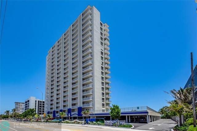 750 N Ocean Blvd #1509, Pompano Beach, FL 33062 (MLS #F10228071) :: Lucido Global