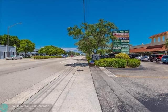 900 E Atlantic Blvd, Pompano Beach, FL 33060 (MLS #F10228211) :: Lucido Global