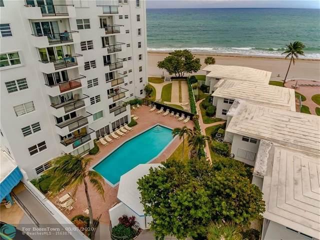 1500 S Ocean Blvd #208, Pompano Beach, FL 33062 (MLS #F10228388) :: Lucido Global