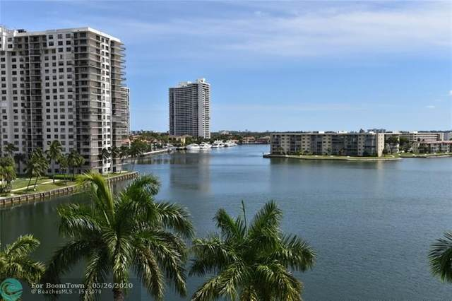 2851 NE 183rd St 616E, Aventura, FL 33160 (MLS #F10228900) :: The Paiz Group