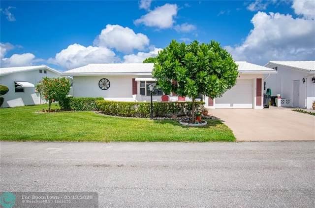 2104 SW 22nd Court, Boynton Beach, FL 33426 (MLS #F10228992) :: The Paiz Group