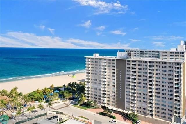 133 N Pompano Beach Blvd #1101, Pompano Beach, FL 33062 (MLS #F10229173) :: Lucido Global