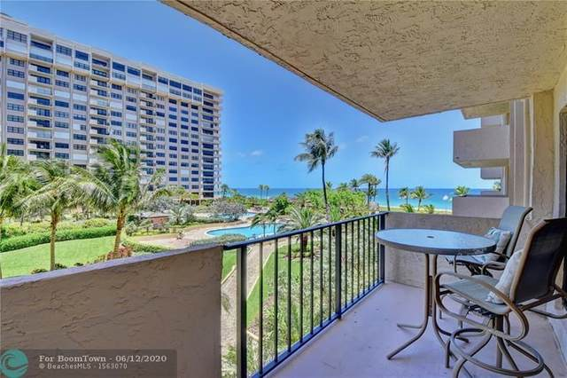 4900 N Ocean Blvd #404, Lauderdale By The Sea, FL 33308 (MLS #F10229324) :: Berkshire Hathaway HomeServices EWM Realty
