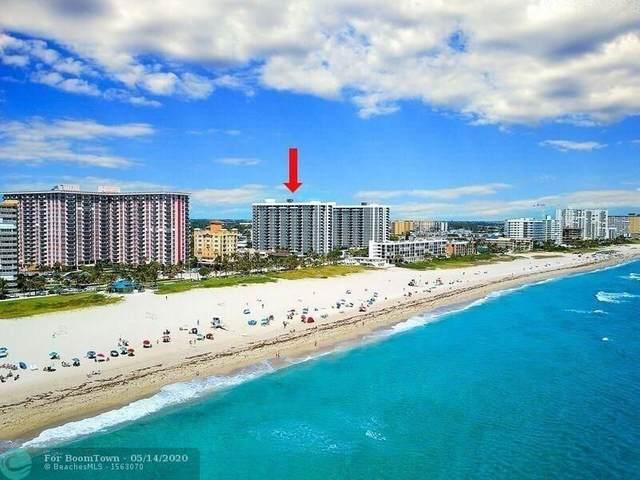 525 N Ocean Blvd #416, Pompano Beach, FL 33062 (#F10229370) :: Posh Properties