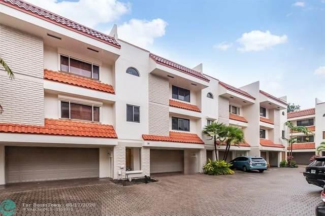 1401 NE 9th Street #39, Fort Lauderdale, FL 33304 (MLS #F10229807) :: The Howland Group