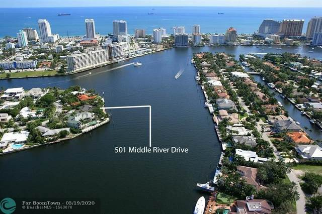 501 Middle River Dr, Fort Lauderdale, FL 33304 (MLS #F10230063) :: The Howland Group