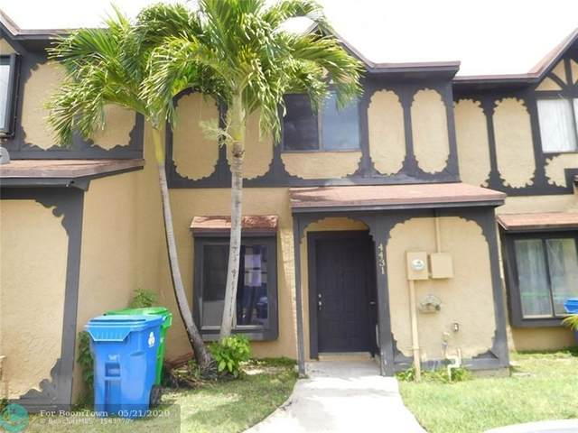 4431 NW 93rd Way #4431, Sunrise, FL 33351 (MLS #F10230543) :: Castelli Real Estate Services