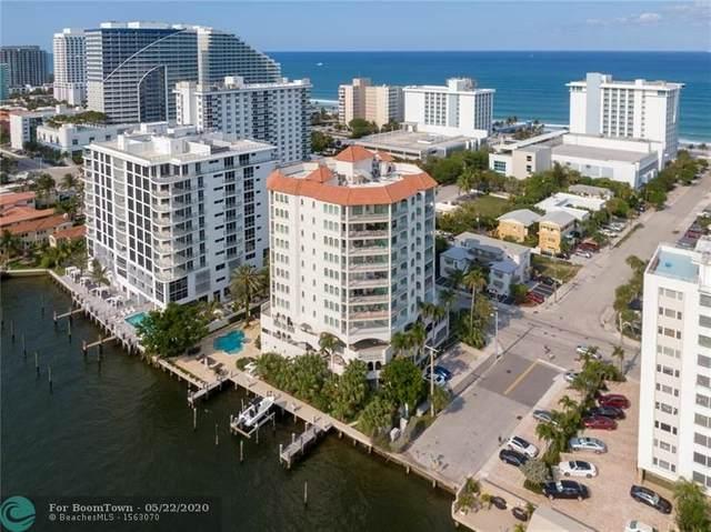 301 N Birch Rd 5N, Fort Lauderdale, FL 33304 (MLS #F10230622) :: Lucido Global