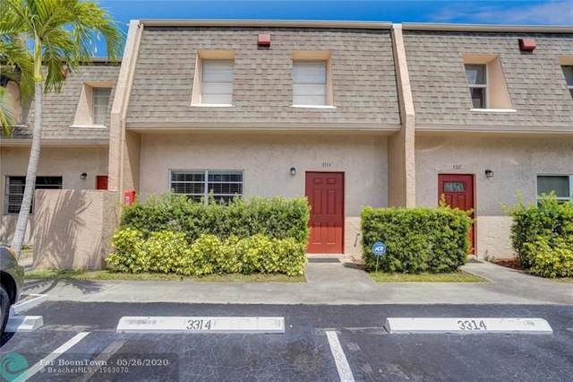 3314 Mallard Close #77, Pompano Beach, FL 33064 (#F10230719) :: Posh Properties