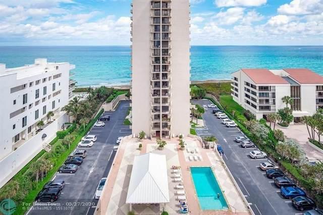 4200 N Ocean Dr 1-206, Riviera Beach, FL 33404 (#F10231295) :: Posh Properties