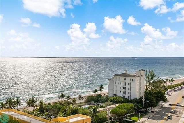 2001 N Ocean Blvd #1305, Fort Lauderdale, FL 33305 (MLS #F10231502) :: Green Realty Properties