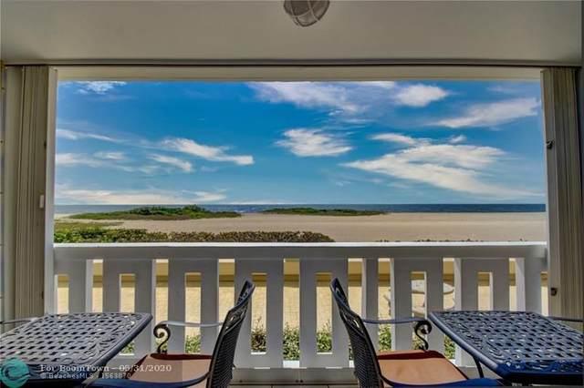 1012 N Ocean Bl #104, Pompano Beach, FL 33062 (MLS #F10231708) :: Patty Accorto Team