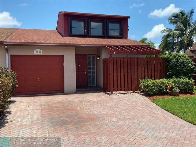 10017 SW 16th St, Pembroke Pines, FL 33025 (MLS #F10231767) :: THE BANNON GROUP at RE/MAX CONSULTANTS REALTY I