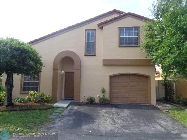 12638 NW 12th Ct, Sunrise, FL 33323 (MLS #F10231896) :: United Realty Group