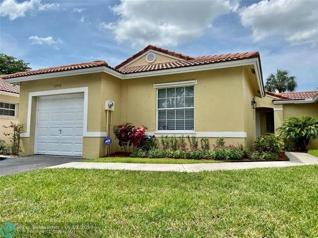 17970 SW 11th Ct, Pembroke Pines, FL 33029 (MLS #F10232092) :: THE BANNON GROUP at RE/MAX CONSULTANTS REALTY I