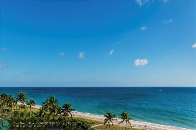 5100 N Ocean Blvd #808, Lauderdale By The Sea, FL 33308 (MLS #F10232245) :: The Howland Group