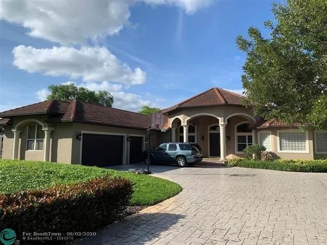 14075 SW 24th St, Davie, FL 33325 (MLS #F10232453) :: The Paiz Group