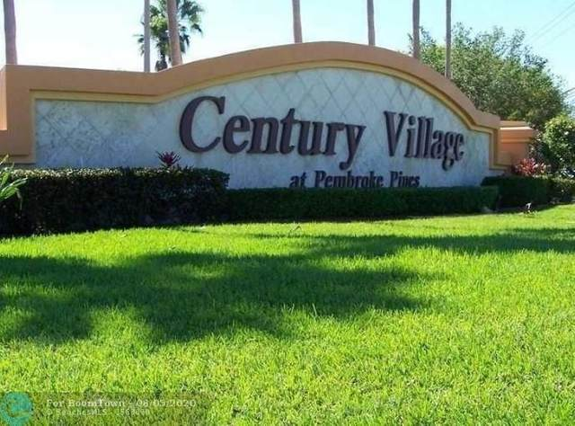 13250 SW 4th Ct 105G, Pembroke Pines, FL 33027 (#F10232748) :: Real Estate Authority