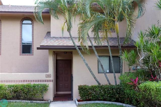 2162 NW 39th Ave B17, Coconut Creek, FL 33066 (MLS #F10232884) :: The Howland Group