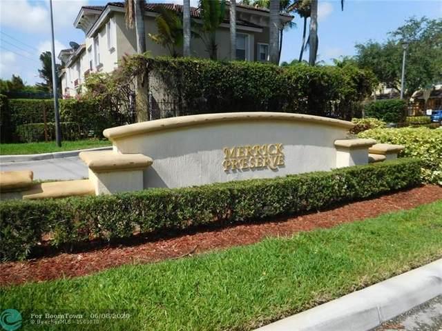 3178 Merrick Ter, Margate, FL 33063 (MLS #F10233076) :: Berkshire Hathaway HomeServices EWM Realty