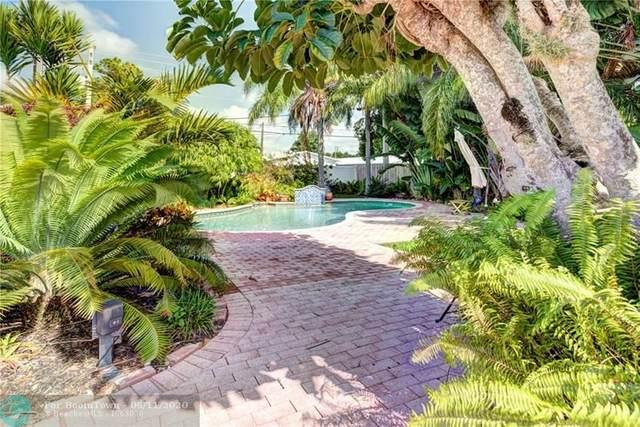 4010 NE 13th Ave, Oakland Park, FL 33334 (MLS #F10233629) :: Berkshire Hathaway HomeServices EWM Realty