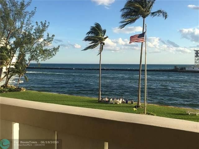 2100 S Ocean Dr 2J, Fort Lauderdale, FL 33316 (MLS #F10234702) :: Patty Accorto Team
