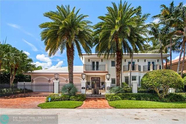 15 Pelican Dr, Fort Lauderdale, FL 33301 (MLS #F10234706) :: The Howland Group