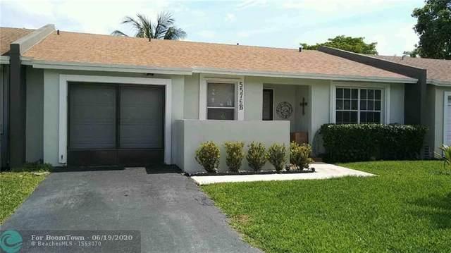 5576 NW Lakewood Cir B, Margate, FL 33063 (MLS #F10234931) :: Green Realty Properties