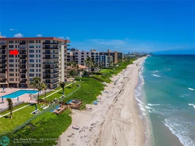 1149 Hillsboro Mile #810, Hillsboro Beach, FL 33062 (MLS #F10234936) :: Green Realty Properties