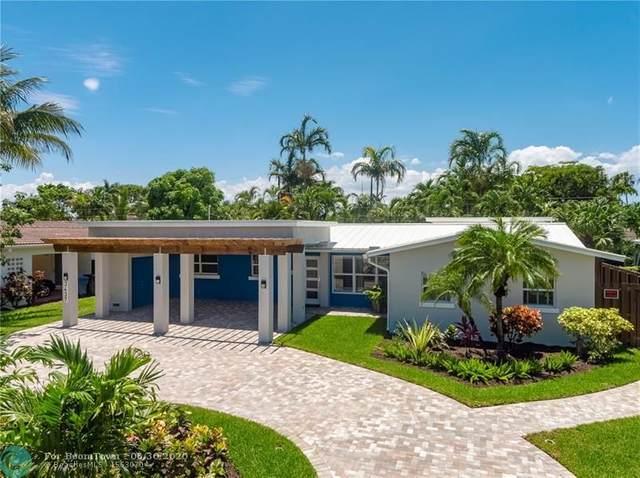 3437 NE 18th Ave, Oakland Park, FL 33306 (MLS #F10235284) :: Berkshire Hathaway HomeServices EWM Realty