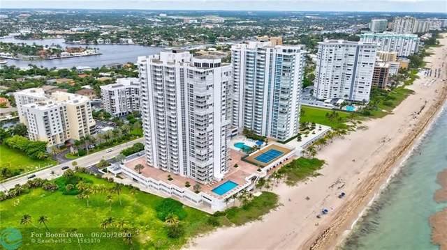 1370 S Ocean Blvd #2607, Pompano Beach, FL 33062 (#F10235591) :: Posh Properties