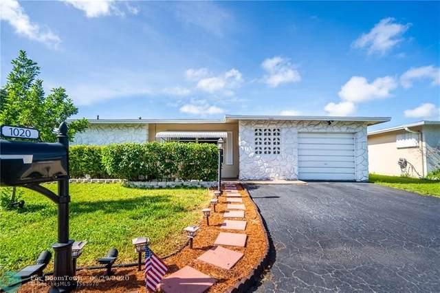 1020 NW 49th St, Deerfield Beach, FL 33064 (#F10235789) :: Dalton Wade