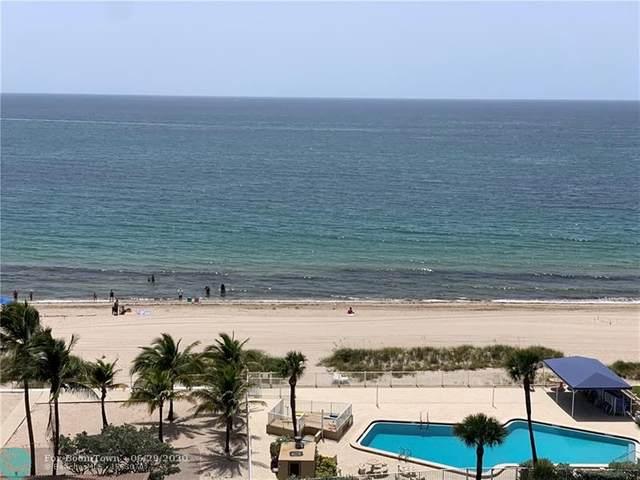 4050 N Ocean Dr #907, Lauderdale By The Sea, FL 33308 (MLS #F10236144) :: Berkshire Hathaway HomeServices EWM Realty