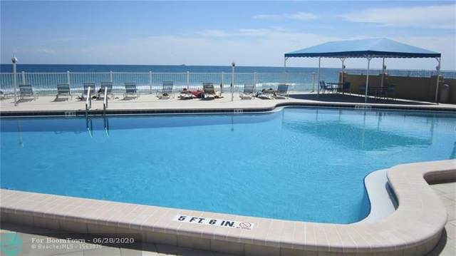 4050 N Ocean Dr #703, Lauderdale By The Sea, FL 33308 (MLS #F10236241) :: Berkshire Hathaway HomeServices EWM Realty