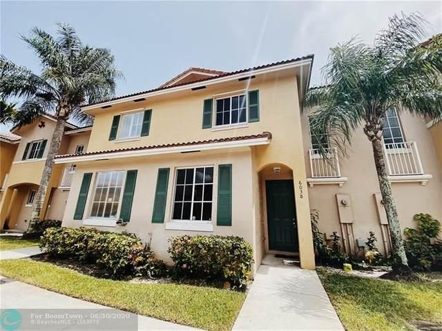 6038 SW 19th Ct #6038, North Lauderdale, FL 33068 (MLS #F10236502) :: Castelli Real Estate Services