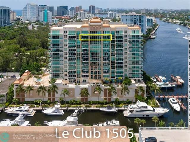 2845 NE 9th St #1505, Fort Lauderdale, FL 33304 (#F10236649) :: Baron Real Estate