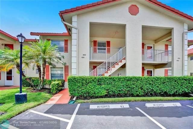 3051 Holiday Springs Blvd #205, Margate, FL 33063 (MLS #F10236925) :: Berkshire Hathaway HomeServices EWM Realty