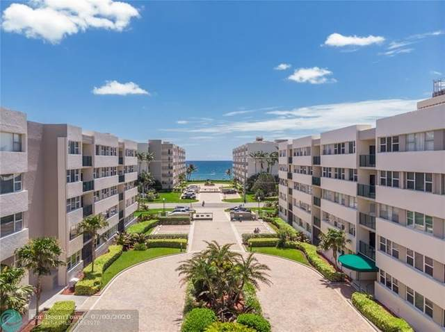 1238 Hillsboro Mile #510, Hillsboro Beach, FL 33062 (MLS #F10237026) :: Green Realty Properties