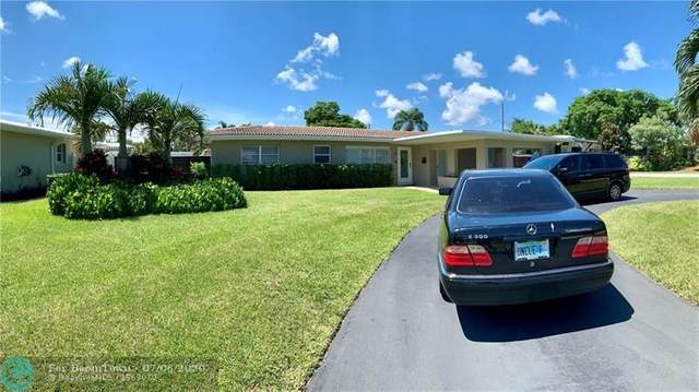 3481 NE 18th Ave, Oakland Park, FL 33306 (MLS #F10237540) :: Berkshire Hathaway HomeServices EWM Realty